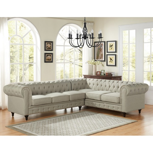 Carley Sectional   S0099L-2PC   S0100L-2PC