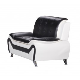 Arul Tufted Modern Club Chair S5066-C  S5067-C