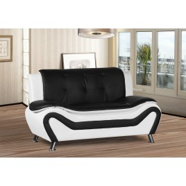 JaCee Tufted Modern Loveseat