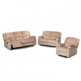 3 Reclining Piece Living Room Set  S6026-3PC  S6027-3PC