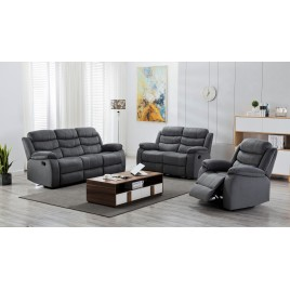 Lincoln 3 Piece Reclining Living Room Set