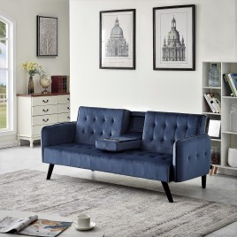 Sofa Bed Sleeper with Cup Holder