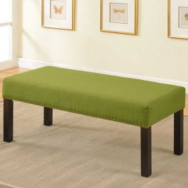 Fabric Wood Bench  BC-1007  BC-1008
