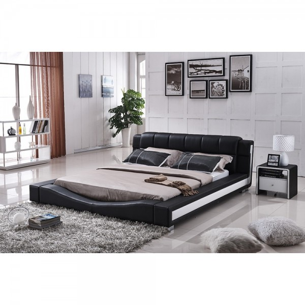 PU Leather platform Bed    B8067-QB  B8067-CK   B8067-EK