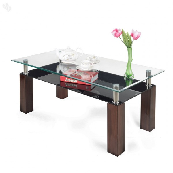 Hot Bending glass coffee Table 47.5*28  2 box