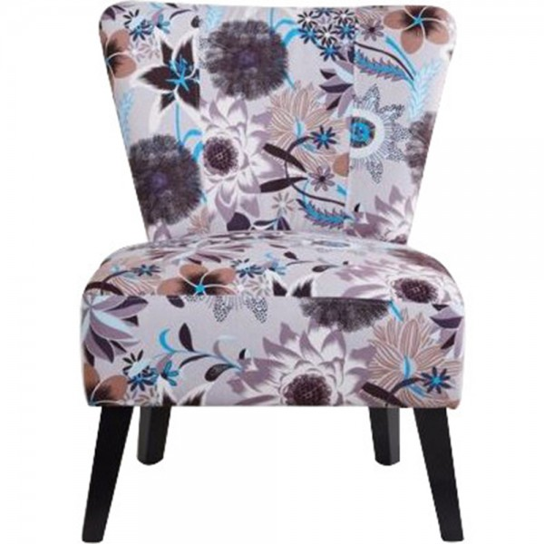 Porch & Den Westnedge Montrose Patterned Fabric Accent Chair