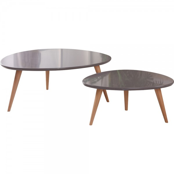 Isabella 2 Piece Coffee Table Set  CT-239-Grey  CT-239-Light Grey  CT-239-WH