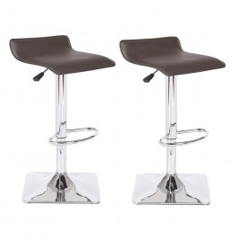 Adjustable Height Swivel Bar Stool  BS8031-BK  BS8031-CH  BS8031-RD	BS8031-WH
