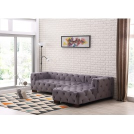 Harris Chesterfield Sectional Right Facing