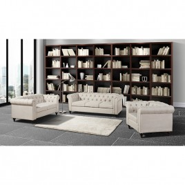 Chesterfield 3 Piece Living Room Set